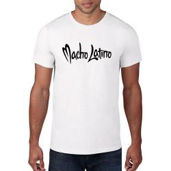 T-Shirt MACHO LATINO rund...